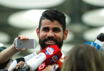 Diego Costa ya fue inscrito por Atlético Mineiro. EFE/Archivo