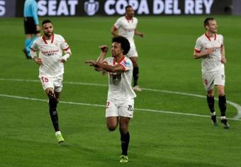 El Chelsea insistirá al Sevilla por el traspaso de Koundé. AFP