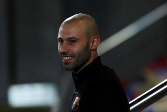 L'agent de Mascherano le voit sur un banc à partir de janvier. EFE/Alejandro García