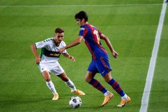 OFICIAL: el Barça cede a Trincao a los Wolves. EFE/Quique García