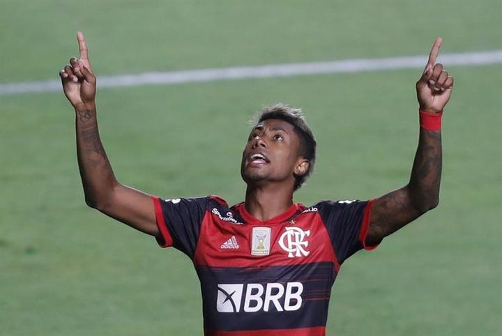 Bruno Henrique se notabilizou por ser um jogador que aparece em jogos grandes. EFE/Fernando Bizerra