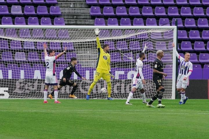 El Valladolid sigue teniendo 'overbooking' de fichas. EFE/Archivo