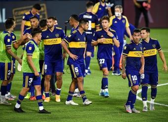 Boca logró una importante victoria ante Huracán. EFE