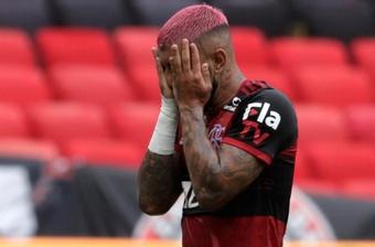 Gabigol, el gran ausente del Palmeiras-Flamengo. EFE