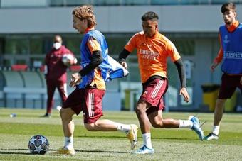 Ancelotti tiene muchas bajas para esta nueva jornada. EFE
