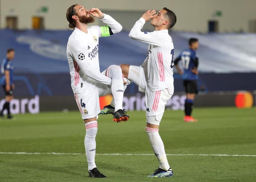 Le Real Madrid valide son ticket pour les quarts. EFE