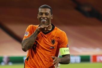Georginio Wijnaldum wants the Netherlands to win by bigger margins. EFE