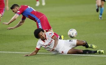 El miedo del Sevilla con Koundé. EFE