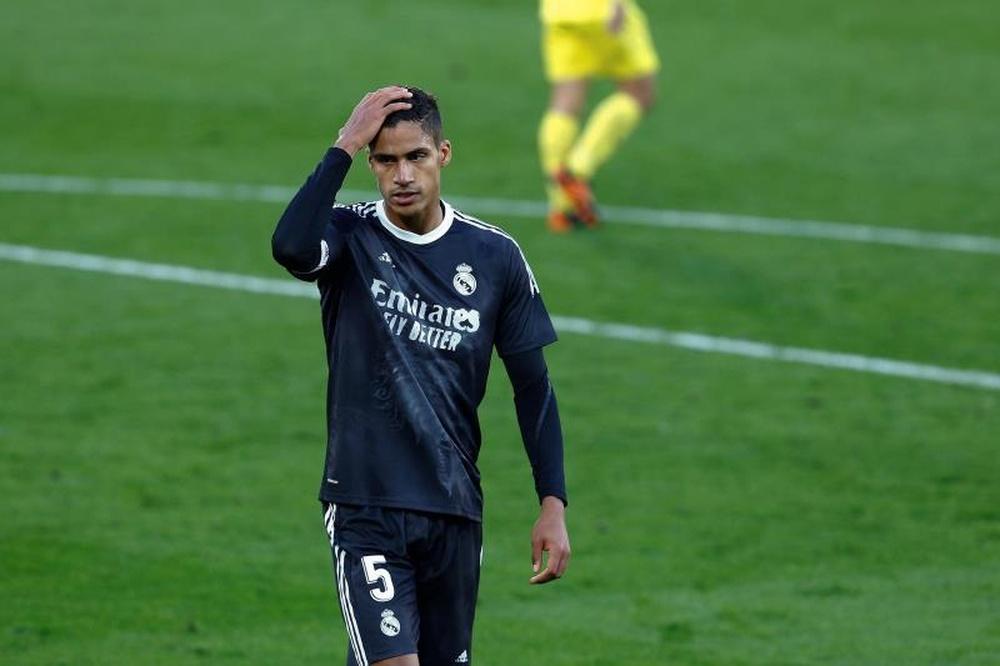 Man Utd fear that Varane has used them to renew. AFP