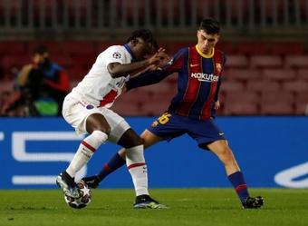 Pedri se adaptará a la situación del Barça. EFE