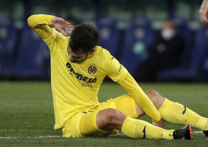 Trigueros desea continuar en el Villarreal varios años más. EFE/Archivo