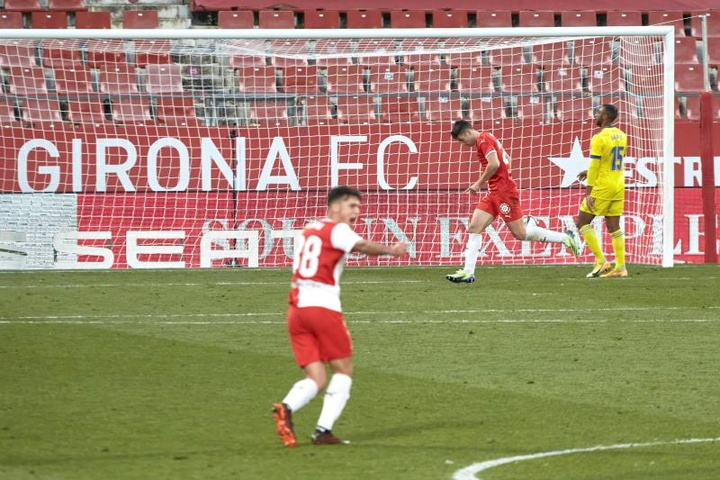 Girona y Rayo se enfrentan este domingo en Montilivi. EFE/Archivo
