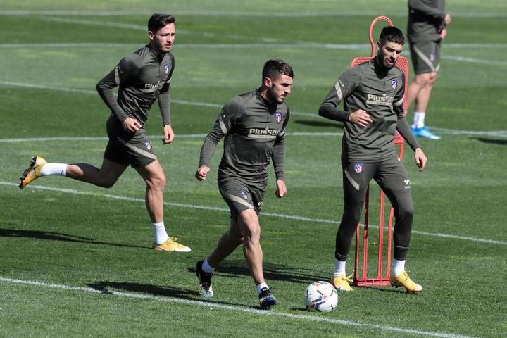 Trois joueurs de l'Atletico Madrid sur le départ. efe