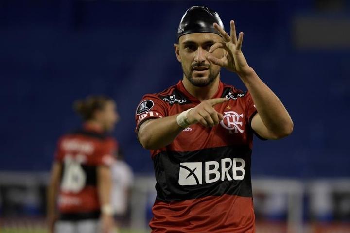 Flamengo entra em semana decisiva pela renovação de Arrascaeta. EFE/Juan Mabromata