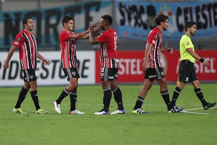 Com grande atuação de Volpi, São Paulo e Fluminense empatam sem gols. AFP