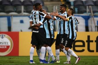 A situação de Rafinha no Grêmio. EFE/Diego Vara