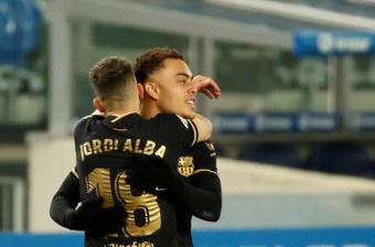 Dest no estará en el estreno del Barça en esta Champions. EFE