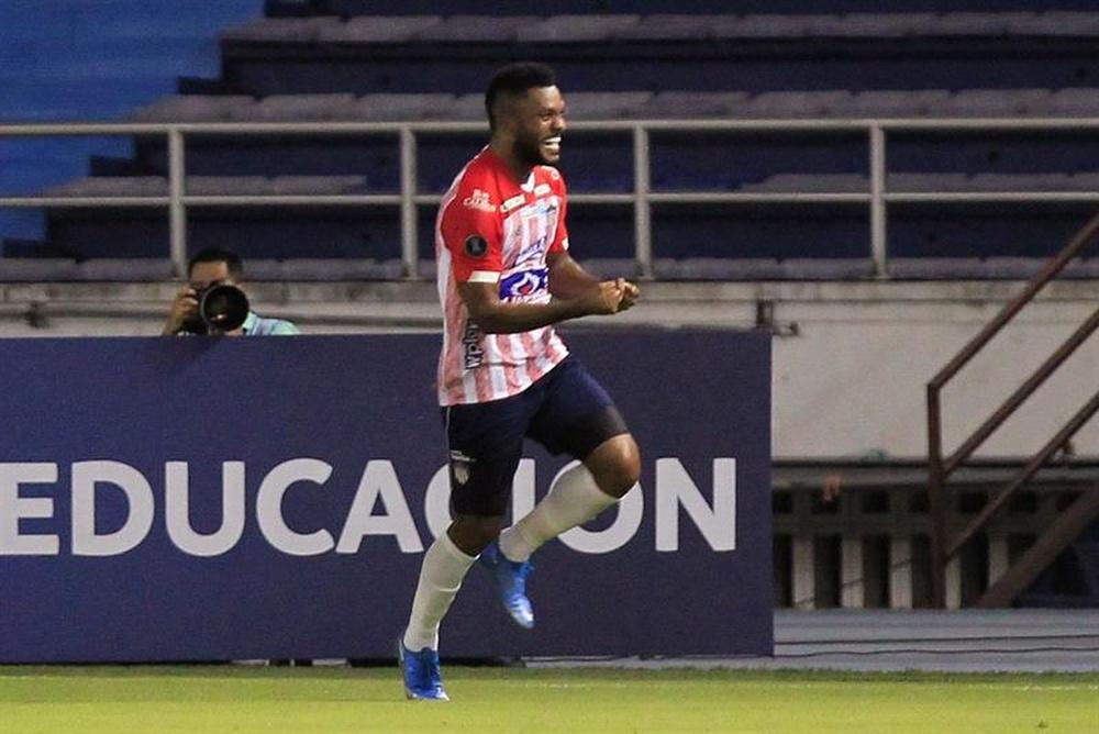 MIguel Borja abandona la disciplina de Junior. EFE