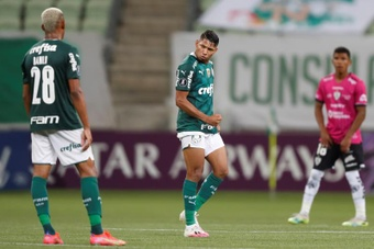 Palmeiras no pudo pasar del empate ante Sao Paulo. EFE