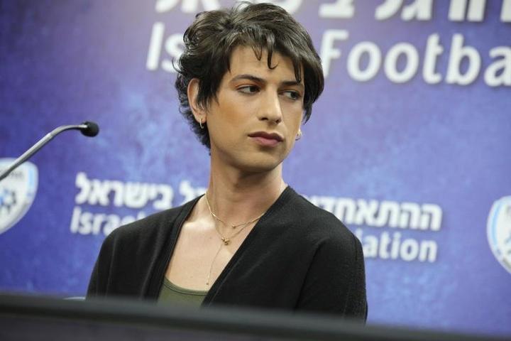 Sapir Berman, premier arbitre trans d'Israël. EFE