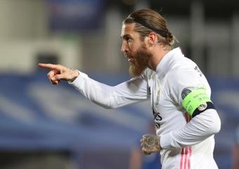 Le PSG reconfirme l'absence de Ramos. EFE