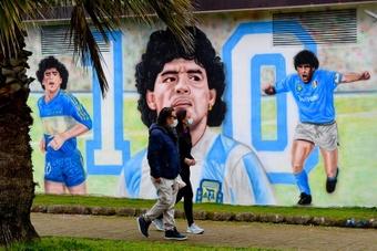 Las hermanas de Maradona se quedan con su marca. EFE
