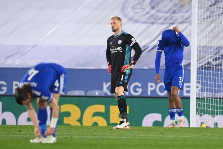 El Newcastle se impuso con autoridad al Leicester. AFP