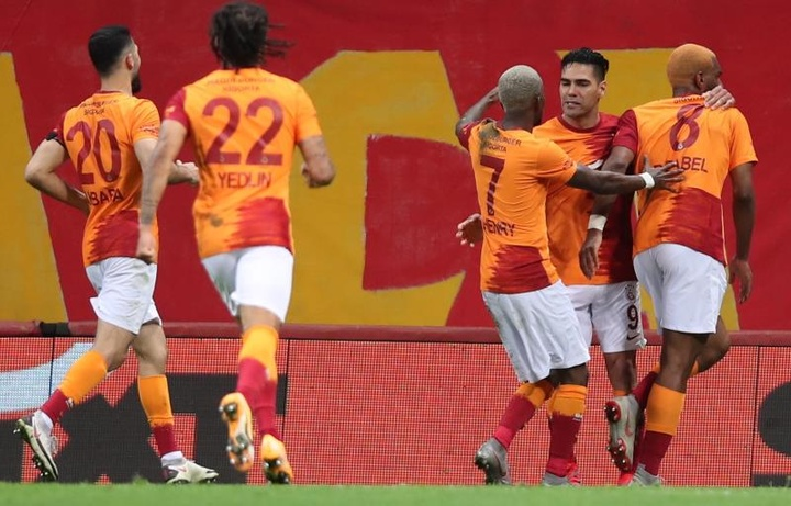 Vitória vintage do Galatasaray para cima do Besiktas. AFP
