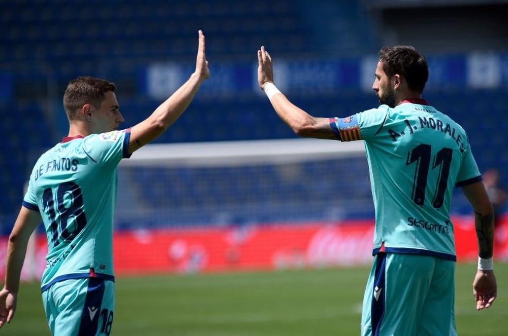 El Levante rechazó la oferta del Niza. EFE