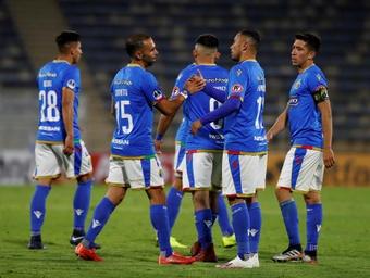 Everton liquida a Audax Italiano sobre el final. EFE