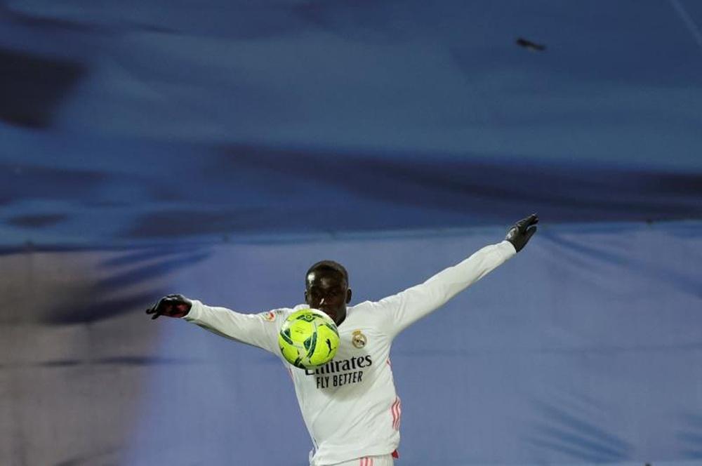 Ferland Mendy will miss Real Madrid's opener. EFE