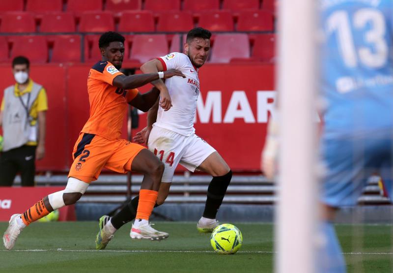 Victoria por la mínima del Sevilla ante el Valencia