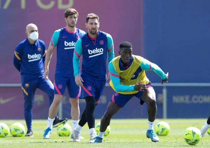 Ilaix Moriba écarté aussi du Barça B. afp