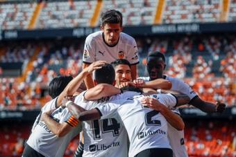 El Valencia ha estado en dos de los tres descensos a Segunda. EFE/Archivo