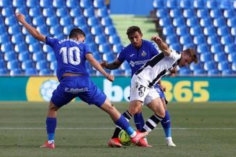 El Getafe certificó su permanencia en Primera División. EFE