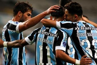 Grêmio viveu 'de tudo' em preparação para decisão.EFE