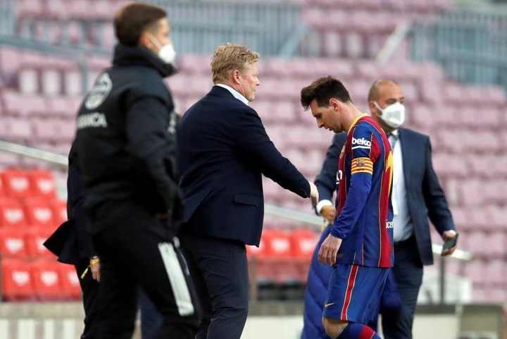 Ronald Koeman's future is in doubt after Barcelona's disappointing end to the season.