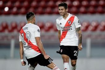 Séville pourrait arracher Montiel à River Plate. EFE