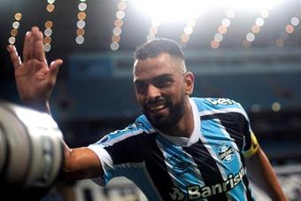 Maicon dejó Grêmio. EFE
