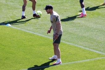 Simeone emmènera son fils Giuliano à la pré-saison. EFE