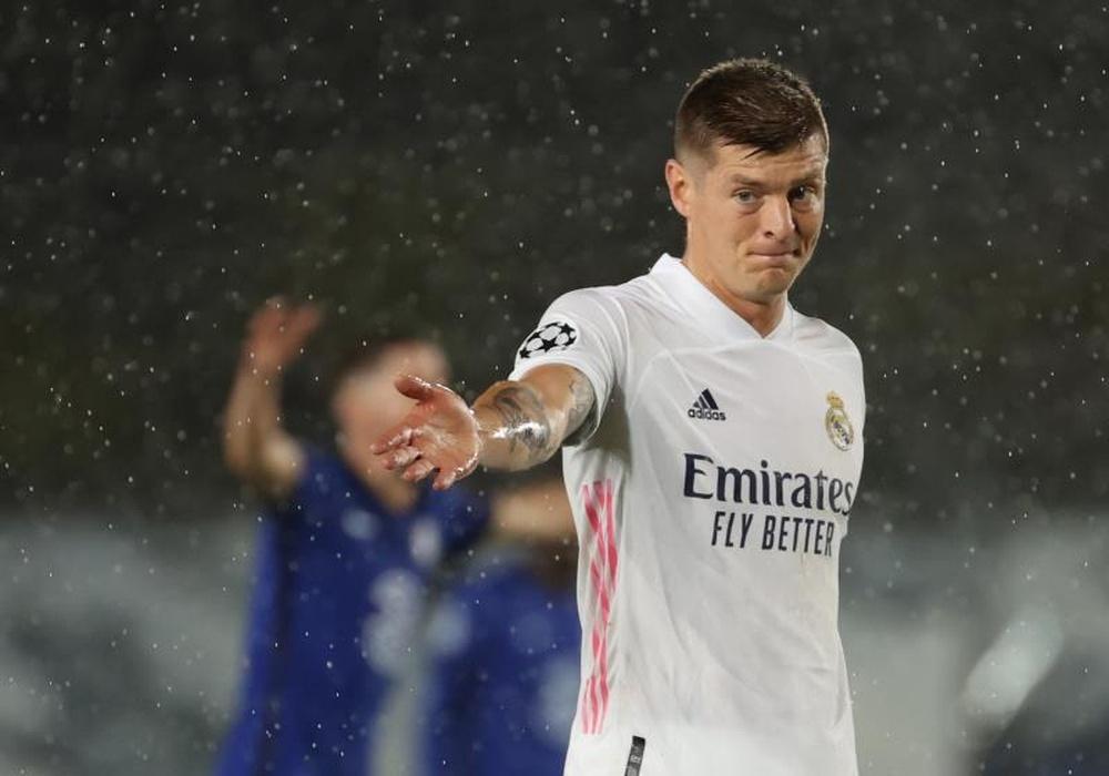 El alemán comenzará su octava temporada con el Real Madrid. EFE