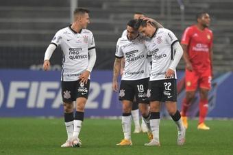 Corinthians ya no tiene opciones de seguir adelante en la Sudamericana. EFE/Archivo