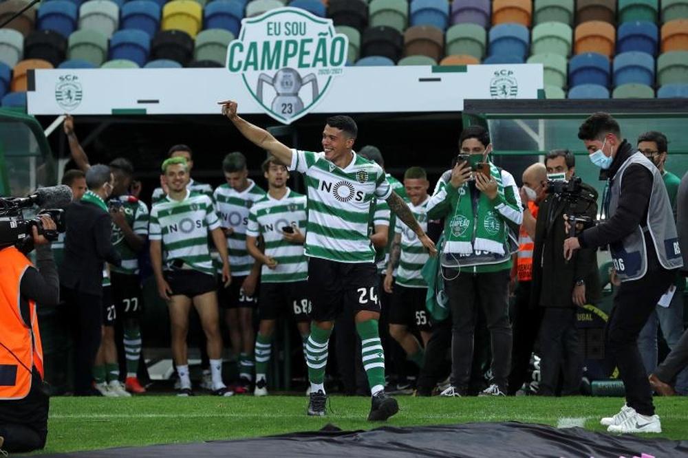 Pedro Porro, apunto de volver al Sporting de Portugal. EFE