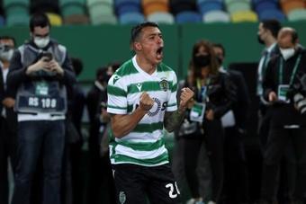 Pedro Porro podría seguir en el Sporting hasta 2025. EFE
