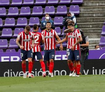 Correa y Suárez volverán a ser titulares. EFE