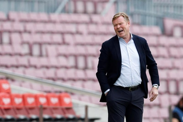 Koeman resterait au Barça. EFE