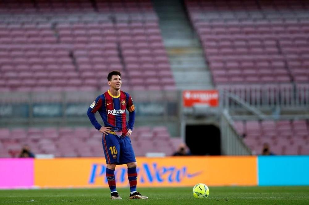 En principio, Leo Messi cerrará su renovación a la vuelta de vacaciones. EFE