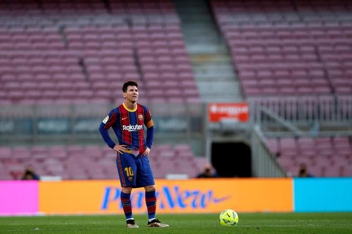 J'aimerais que mon fils Nico puisse jouer aux côtés de Messi. afp