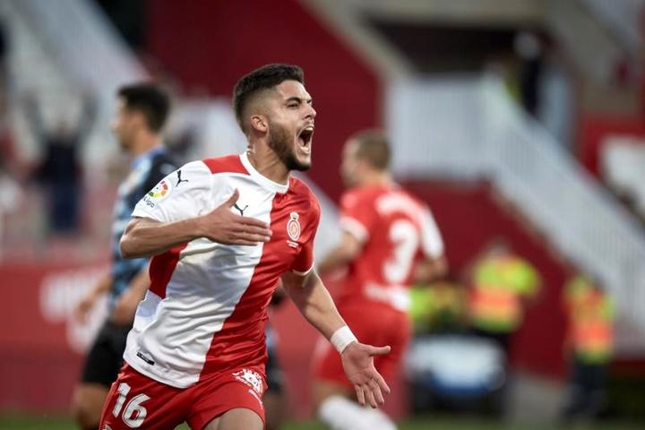 Yan Couto y Pablo Moreno podrían volver al Girona. EFE