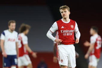 Odegaard is very close to making his move to Arsenal official. EFE